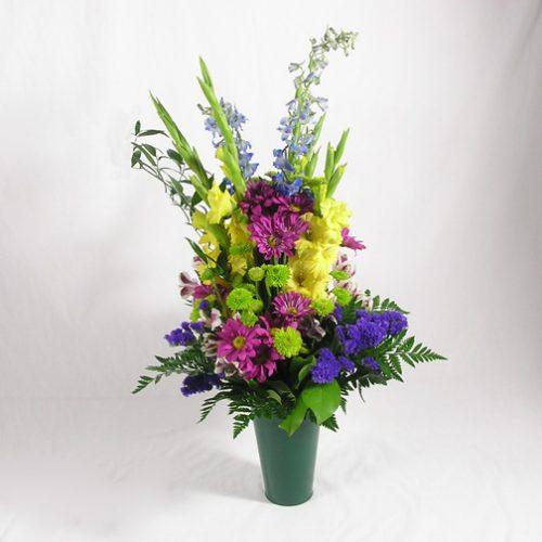 WW-174 Fresh Cemetary Bouquet