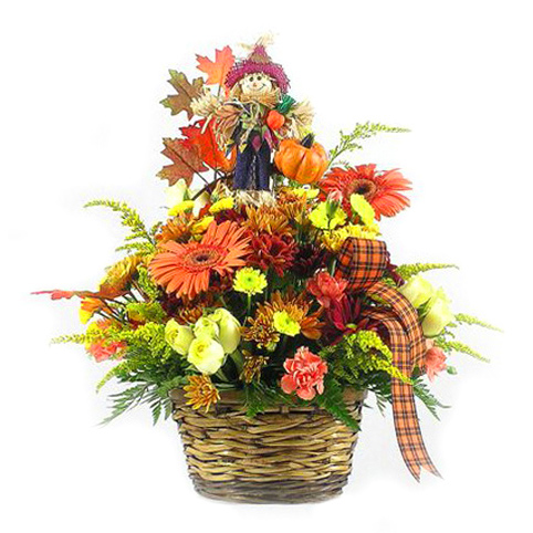 WW-255 Scarecrow Basket