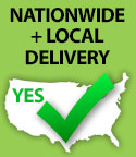 Nationwide and Local Delivery Available